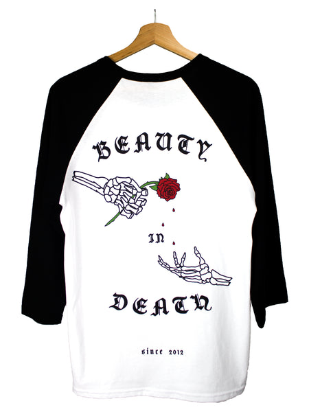 Beauty In Death Raglan