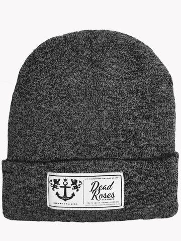 Classic Beanie // Dark Heather Grey