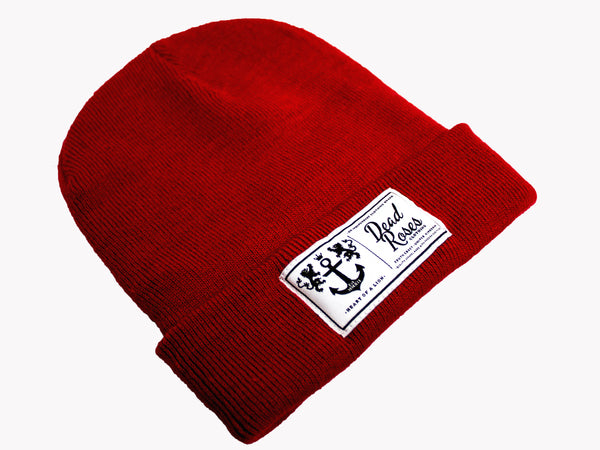 Classic Beanie // Rose Red
