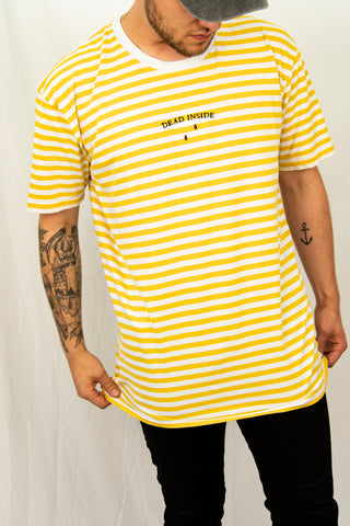 Dead Inside Stripe T-Shirt
