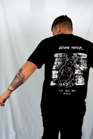 Nothing Matters T-Shirt // Black