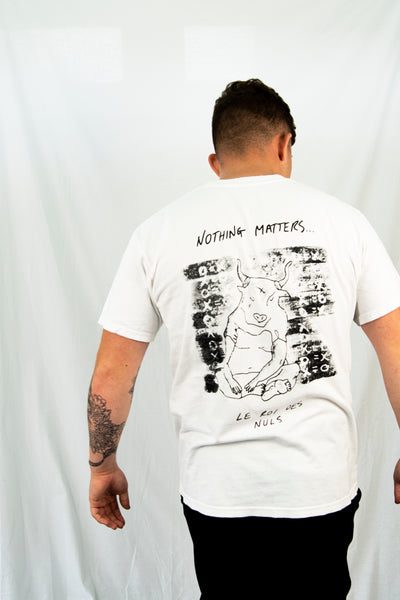 Nothing Matters T-Shirt // White