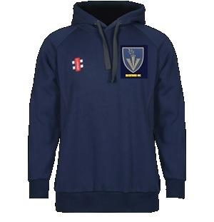Rawdon Junior Gray Nics Hooded Top