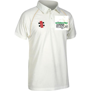 Wetherby Junior Cricket Shirt Senior Sizes