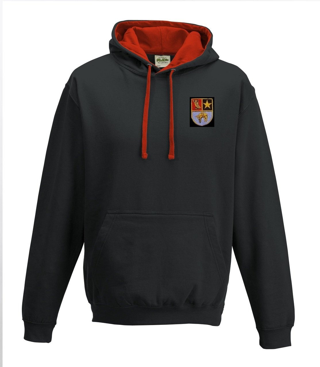Leeds Mods 2 Tone Hooded Top