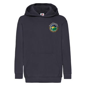 Menston Primary School Navy Hooded with Logo