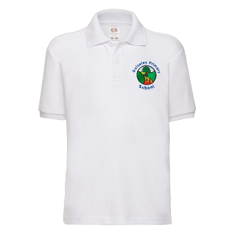 Guiseley Primary School Polo T-Shirt with Logo