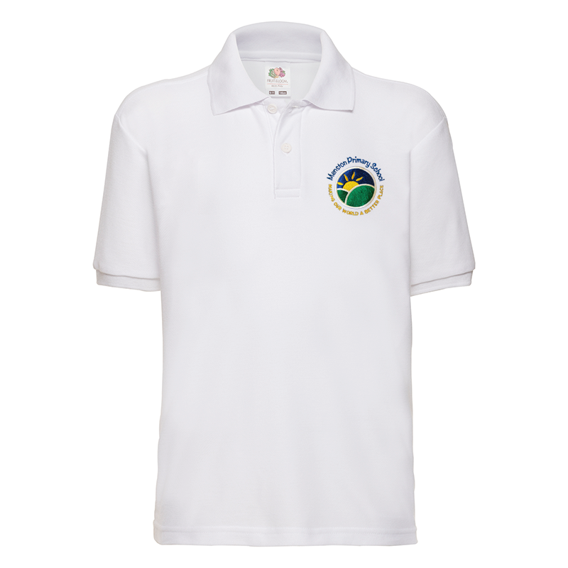 Menston Primary School Polo T-Shirt with Logo