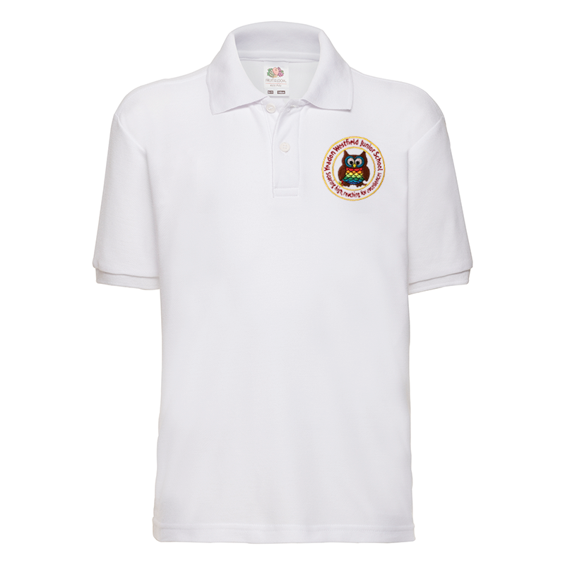 Yeadon Westfield Junior School Polo T-Shirt with Logo