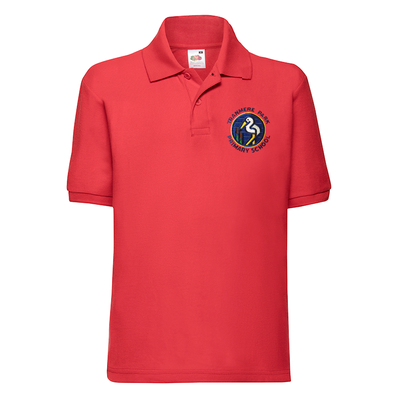 Tranmere Park Primary Polo Shirt (With Logo)
