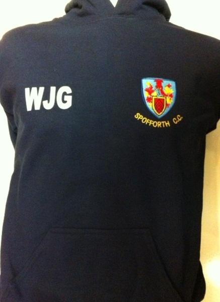 Spofforth Junior Hooded Top