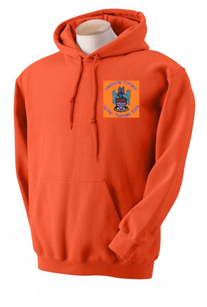 Wetherby Junior ORANGE Hooded Top
