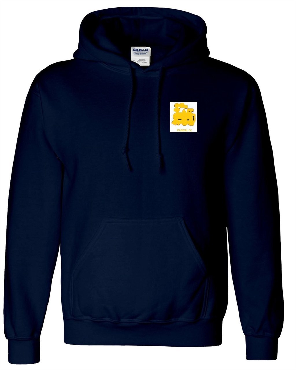 Pannal Senior Navy Hooded Top