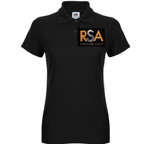 Ripon Stage Academy Ladies Polo T Shirt with Logo