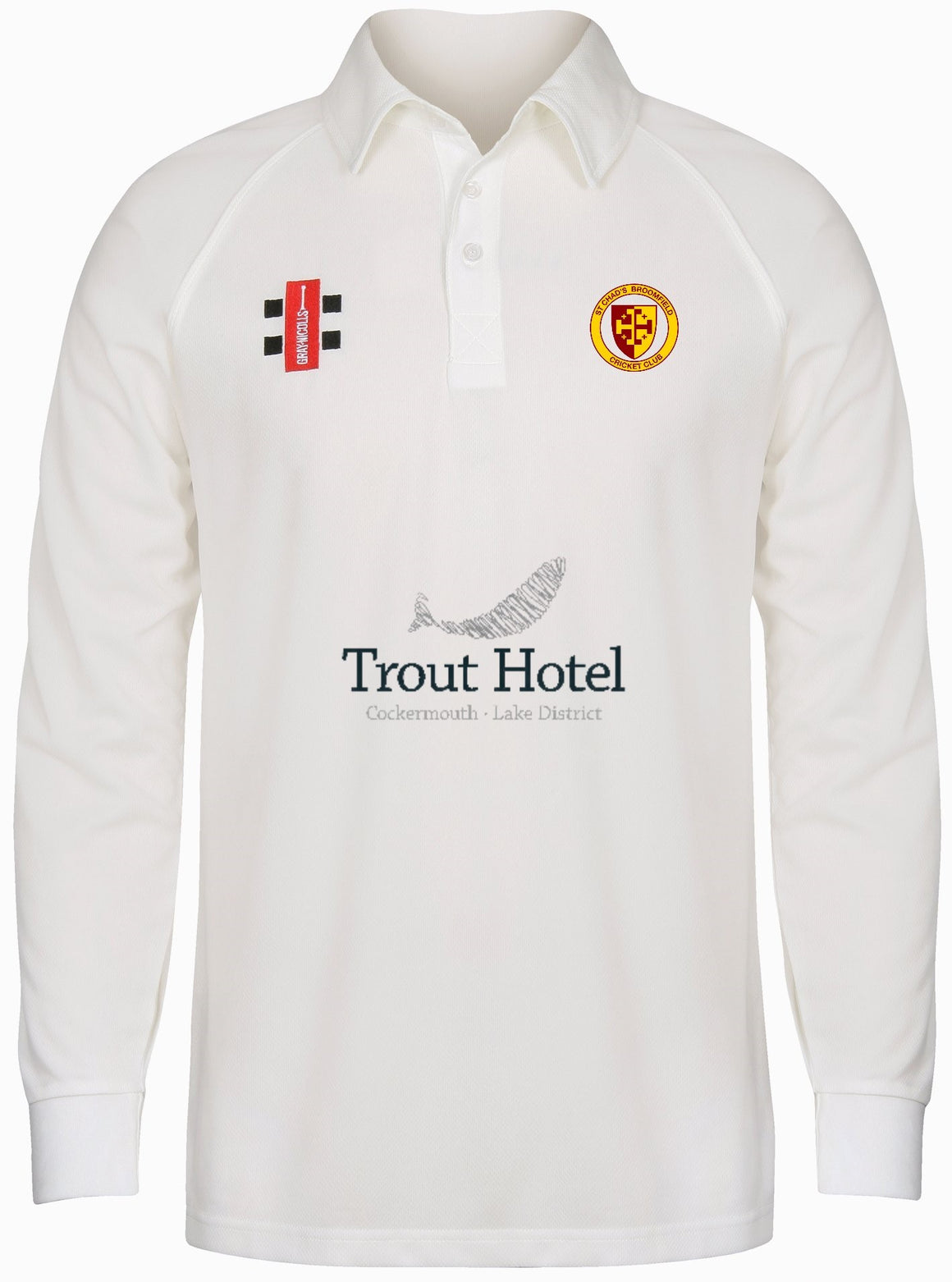 St Chads Senior Long Sleeve Playing Shirt