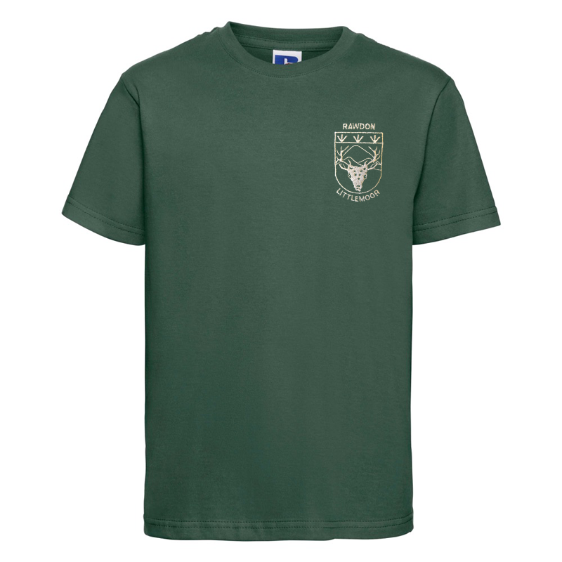 Rawdon Littlemoor Primary T-Shirt with Logo