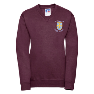 St Oswalds C of E Primary School Embroidered Jumper