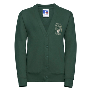 Rawdon Littlemoor Primary Cardigan with Logo