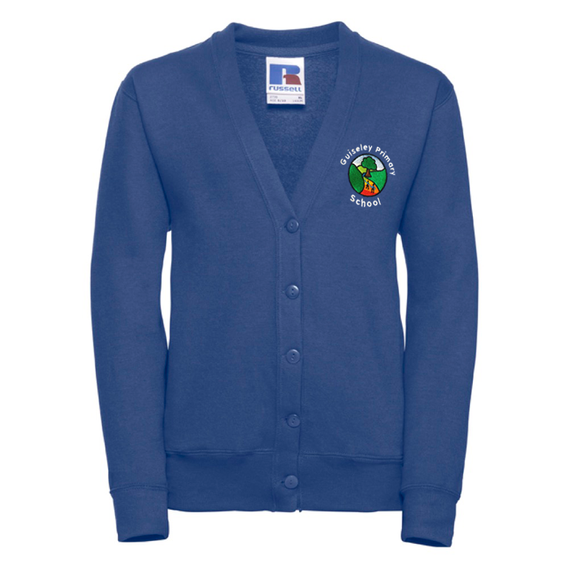 Guiseley Primary Cardigan with Logo