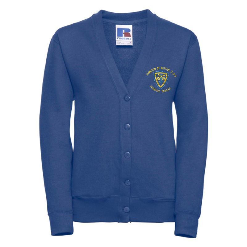 Rawdon St Peters Primary Cardigan with Logo