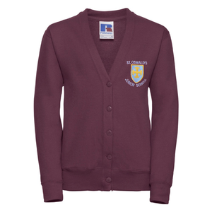 St Oswalds C of E Primary School Cardigan with Logo