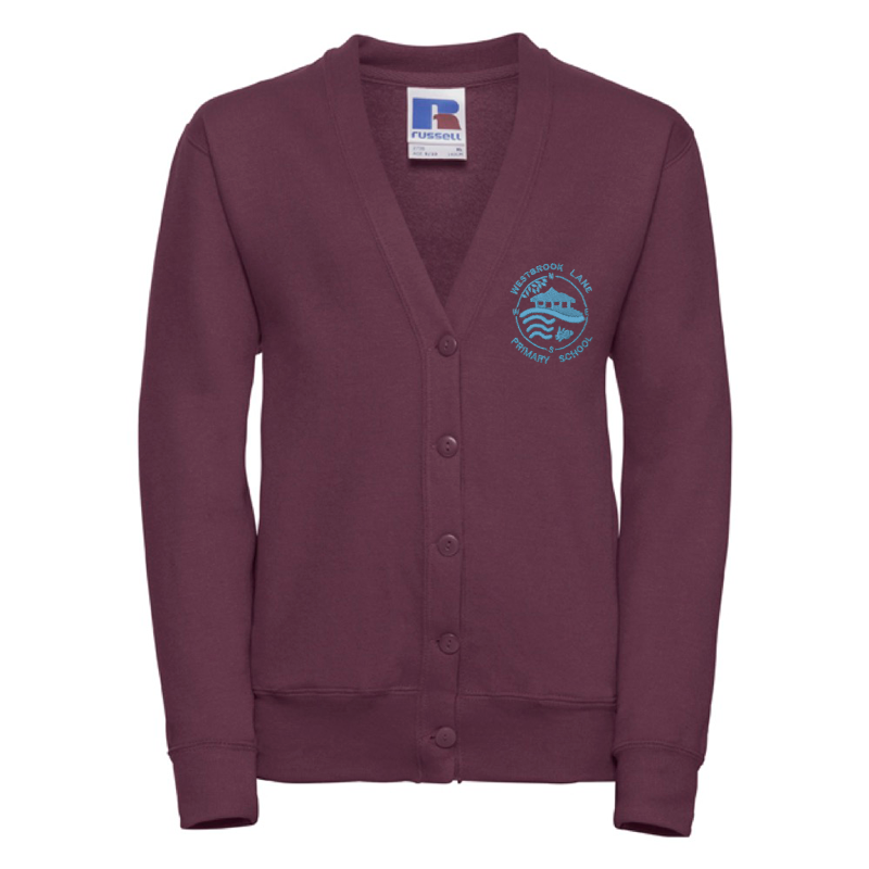 Westbrook Lane Primary Cardigan with Logo