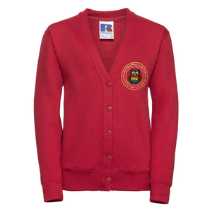 Yeadon Westfield Junior School Cardigan with Logo