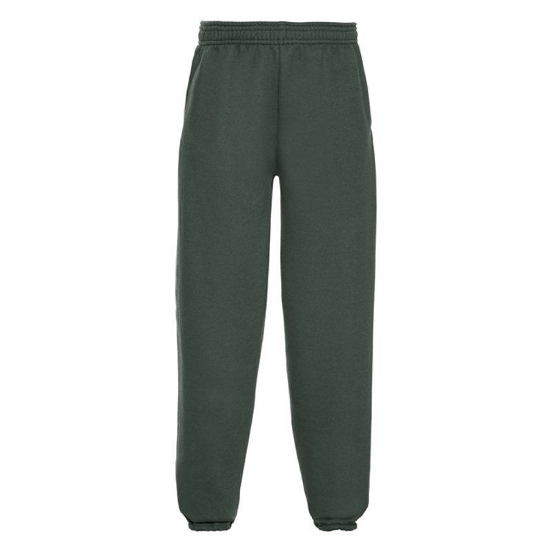 Rawdon Littlemoor Primary Green Jogging Bottoms (No Logo)