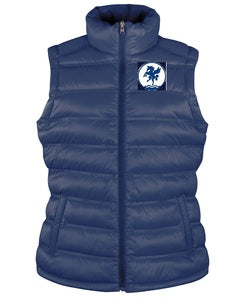 Leeds Hockey Ice Bird Padded Ladies Gilet