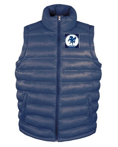 Leeds Hockey Ice Bird Padded Mens Gilet