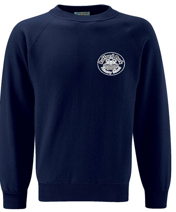 Rufford Park Sweatshirt with Embroidered School Logo