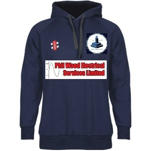 Dunnington Junior Gray Nics Hooded Top