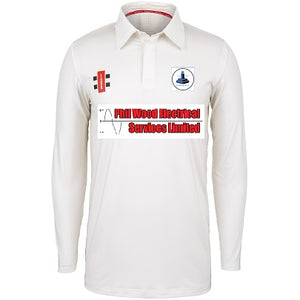 Dunnington Junior Long Sleeve Shirt Senior Sizes