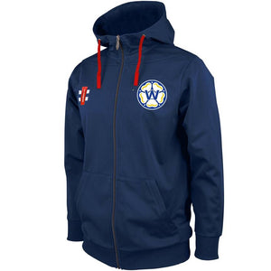 Whitkirk CC Pro Performance Full Zip Hooded Top