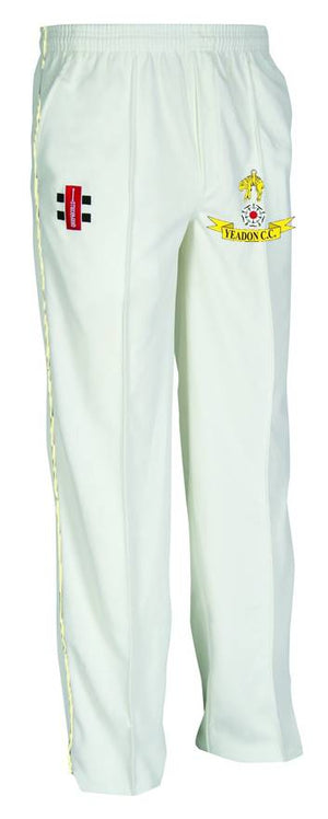 Yeadon C.C. Junior Trousers