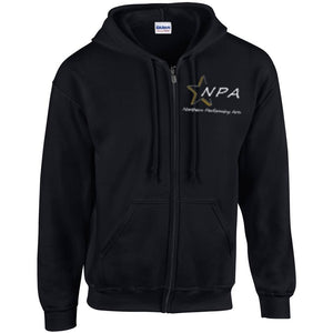 NPA Adults Ladies Zipped Hoody
