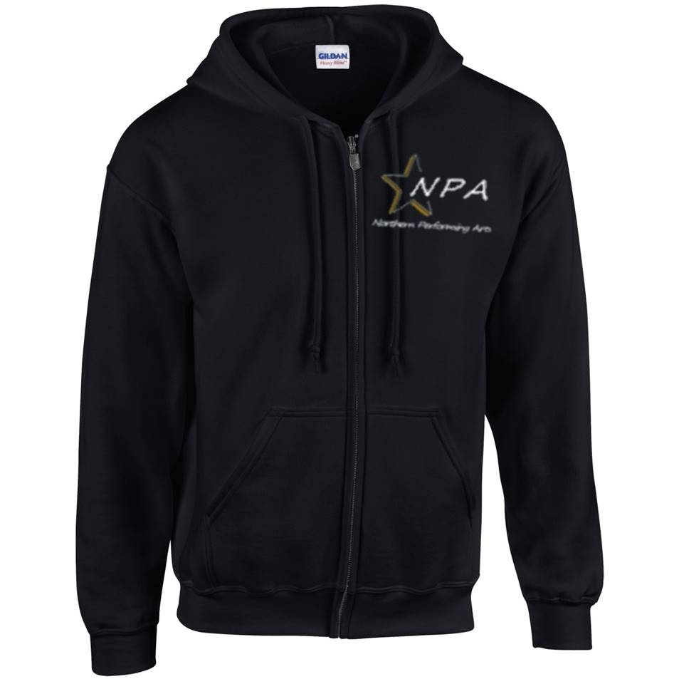 NPA Junior Zipped Hoody