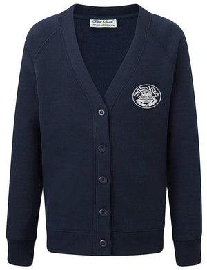 Rufford Park Cardigan with Embroidered School Logo