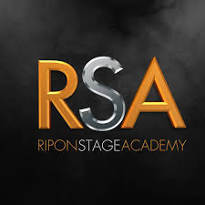 Ripon Stage Academy Mens Black Soft Shell Jacket with Logo