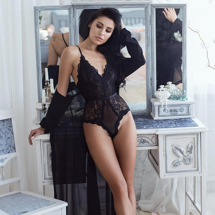 ensemble lingerie séduction de face