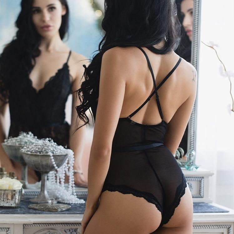 ensemble lingerie séduction de dos