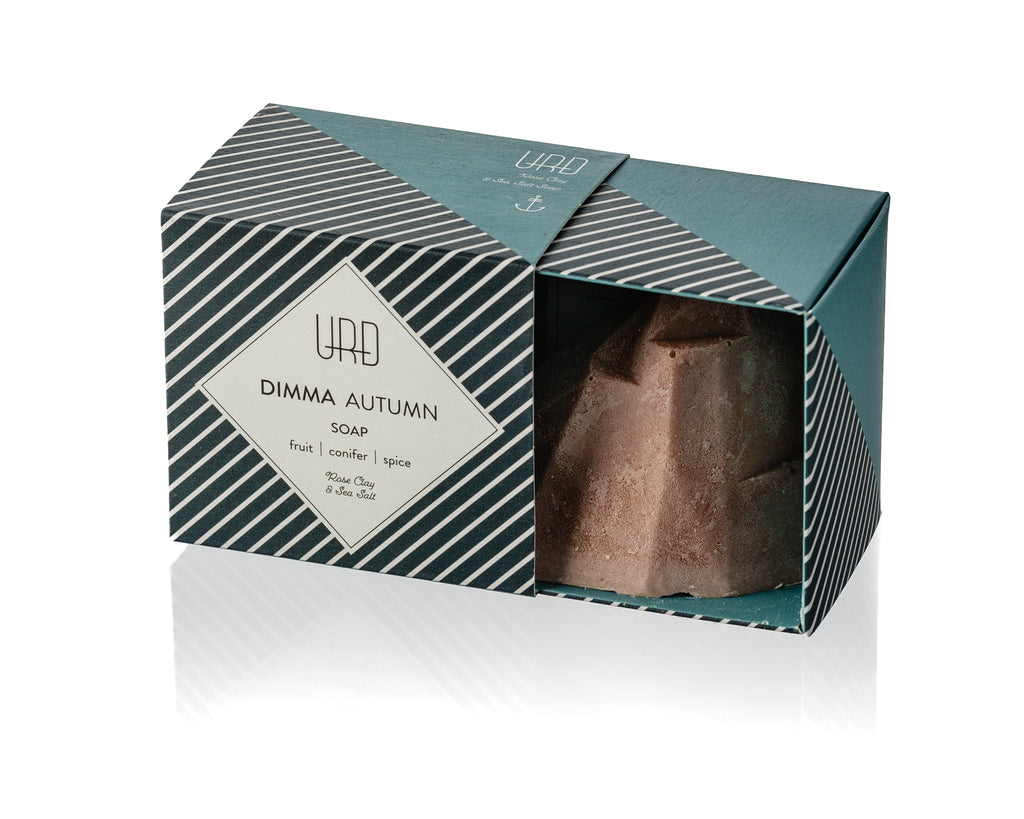 Dimma Icelandic autumn scented natural handmade soap