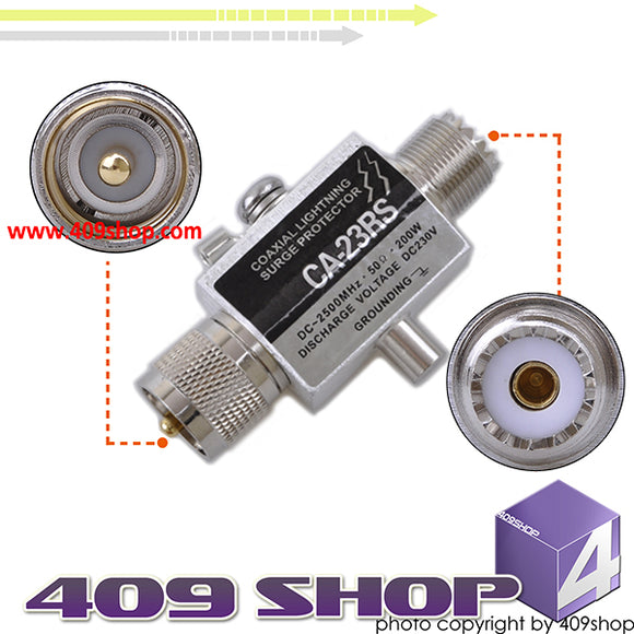 0014-0016 CA23RS Lightning Arrester PL-259-S0239