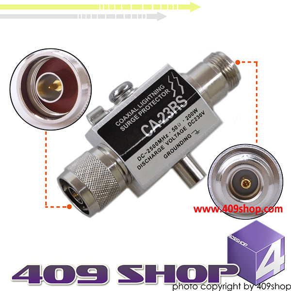 0014-0017 CA23RS Lightning Arrester (N Female-N male)