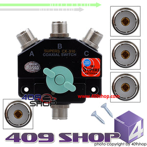 0014-0024 SUPERS CX-310 COAXIAL SWITCH