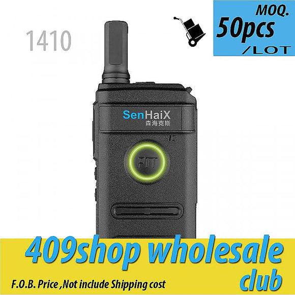 50x 1410 ULTRA SLIM TWO WAY RADIO 1.3W 400-470MHz