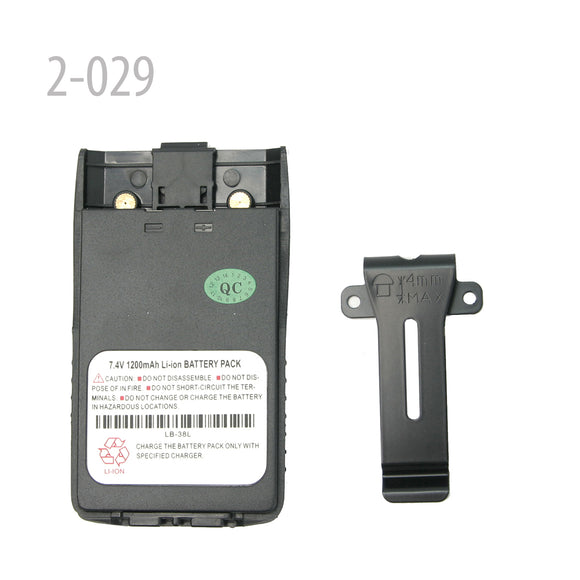Original battery for Ronson RT-6000/V8/LT-6100plus