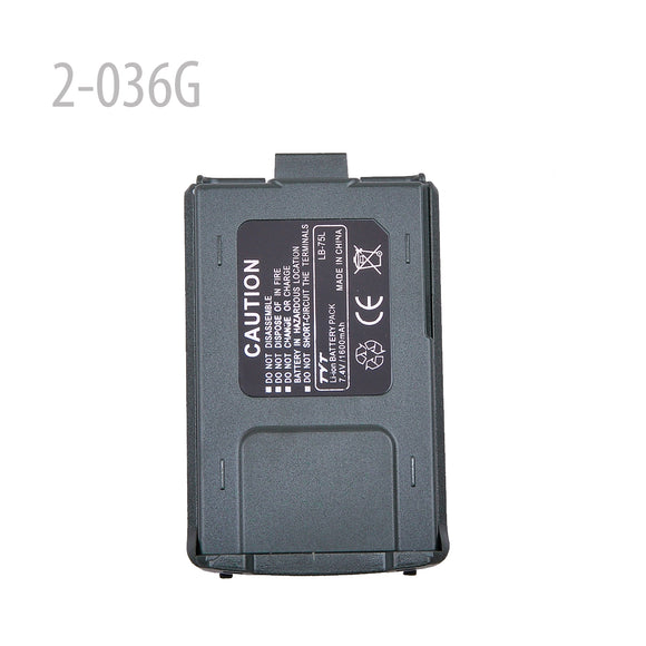 7.4V 1600MAH GREEN LI-ION BATTERY FOR TYT TH-UVF8D