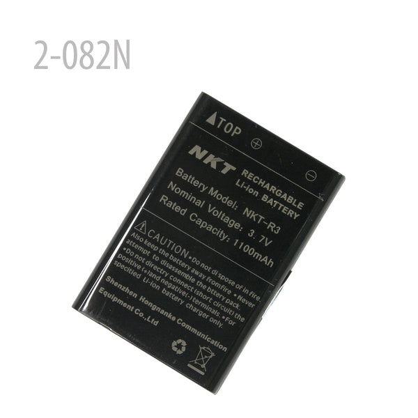 2-082N-NKT Li-ion Battery 3.7V 1100mAh for NKT-R3 VX-2/3R