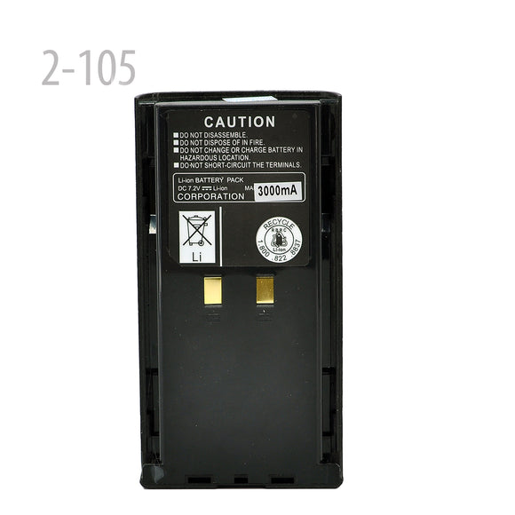 3000mAh Li-ion Battery for replace KNB-16